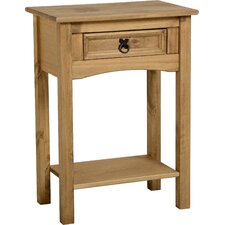 Corona 1 Drawer Console Table