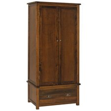 Broadwick 2 Door and 1 Drawer Wardrobe