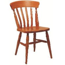Traditional Slatback Beech Dining Chair
