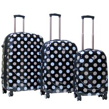 <strong>CalPak</strong> Montego Bay ABS Hardcase 3 Piece 4 Wheels Luggage Set