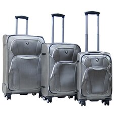 Dawson 3 Piece Expandable Luggage Set