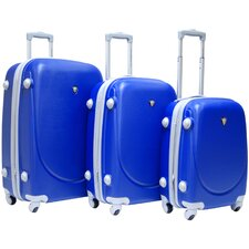 Valley 3-piece ABS Expandable Hardside Luggage Set