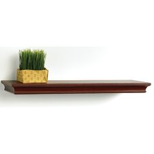 <strong>kathy ireland by LH Licensed Products</strong> Narrow Kingston Bracketless Shelf