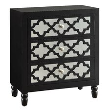 Newcastle 3 Drawer Chest