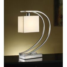 "Manhattan Orion 19"" H Table Lamp with Rectangle Shade"