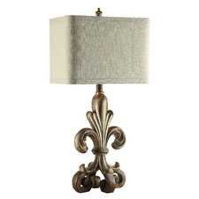 """Traditions Orleans 34"""" H Table Lamp with Rectangle Shade"""