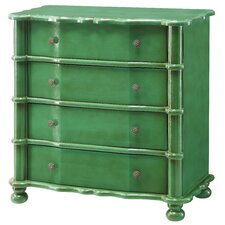 Kelly Emerald 4 Drawer Accent Chest