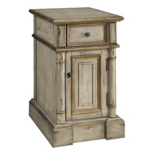 Victoria 1 Drawer Chairside Cabinet