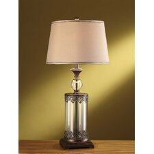 """Traditions Lee 35.5"""" H Table Lamp with Empire Shade"""