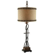 """Summit Link 38.5"""" H Table Lamp with Drum Shade"""