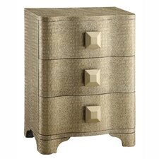 Metro Shaped 3 Drawer Chest