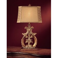 """Aria 32"""" H Table Lamp with Empire Shade"""
