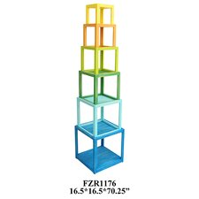 Columbia Colorful Stackable Etagere