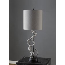 """Twisted Branch 43.5"""" H Table Lamp with Drum Shade"""