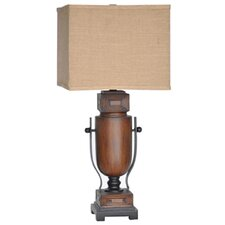 "Wine Country Briston 30.5"" H Table Lamp with Square Shade"