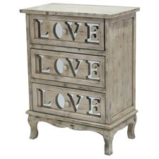 3 Drawer Love Chest