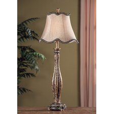 "Avignon Buffet 36.5"" H Table Lamp with Bell Shade"