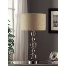 """Transitions 33"""" H Table Lamp with Drum Shade"""