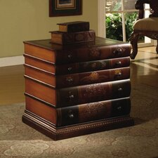 <strong>Crestview Collection</strong> Book Inspired 5 Drawer Chest