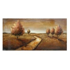 """The Winding Path"" Painting Print"