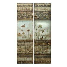 """Dynasty I and II"" Wall Art (Set of 2)"