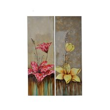 <strong>Crestview Collection</strong> Propriety Wall Art (Set of 2)