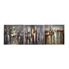 Crossing the Hudson Wall Art (Set of 3)