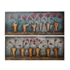 <strong>Crestview Collection</strong> Arnhem Variations Wall Art (Set of 2)