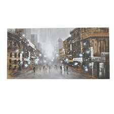 Center Street Graphic Art on Canvas