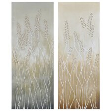 Sativa Canvas Wall Art (Set of 2)