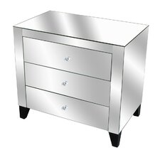 <strong>Crestview Collection</strong> Fletcher 3 Drawer Chest