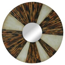 Exotic Round Wall Mirror