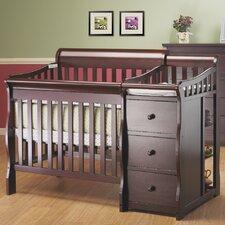 Newport Convertible Mini Crib and Changer Combo