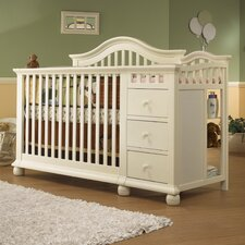Cape Cod 4-in-1 Convertible Crib and Changer Combo