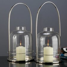 Henri Metal Lantern (Set of 2)