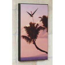 Hawaiian Palm Tree Wall Clock