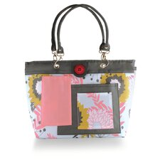 <strong>2 Red Hens Studio</strong> Rooster Tote Diaper Bag