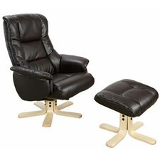 Chicago Luxury Recliner in Black