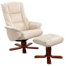 Chicago Luxury Recliner in Cream