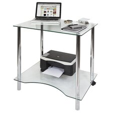 Crystal Workstation Writing Desk
