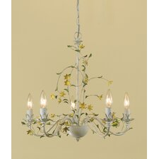 <strong>AF Lighting</strong> Star Flower 5 Light Chandelier