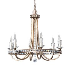 <strong>AF Lighting</strong> Aristocrat 6 Light Chandelier