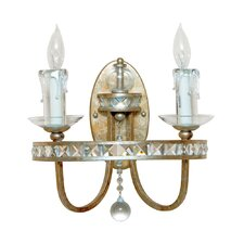 <strong>AF Lighting</strong> Aristocrat 2 Light Wall Sconce