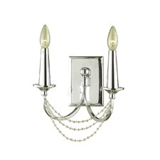 Candice Olson Shelby 2 Light Wall Sconce