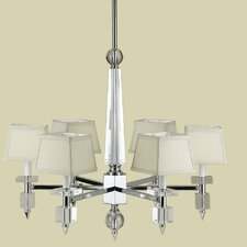 <strong>AF Lighting</strong> Cluny 6 Light Chandelier
