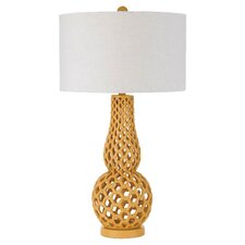 "Horizons Chain Link 31"" H Table Lamp with Drum Shade"