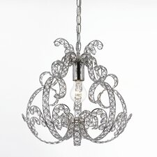<strong>AF Lighting</strong> Elements Splendor 1 Light Foyer Pendant