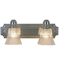 <strong>AF Lighting</strong> Decorative 2 Light Bath Vanity Light