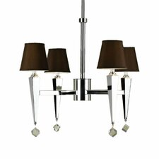 <strong>AF Lighting</strong> Margo 4 Light Chandelier