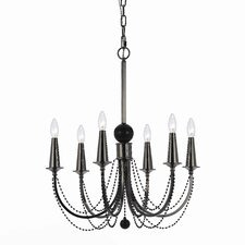 Shelby 6 Light Chandelier